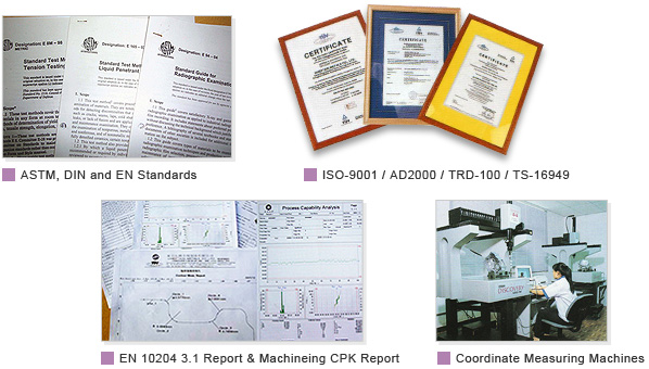 ASTM , DIN and   EN  Standards